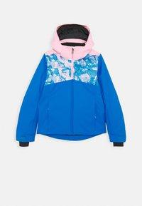 Kjus - GIRLS MILA JACKET - Snowboardová bunda - blue/pink - 0