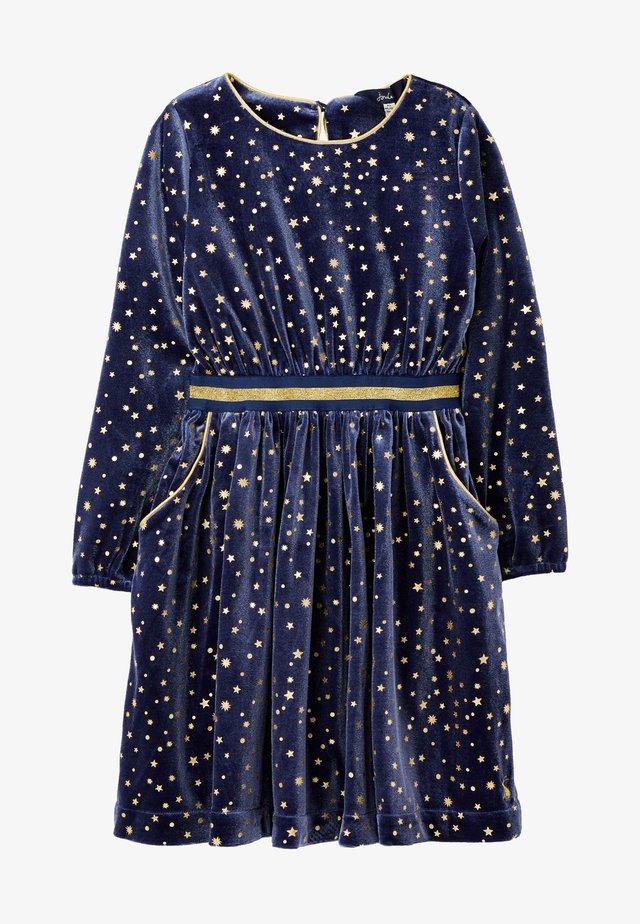 Korte jurk - blaues juwel