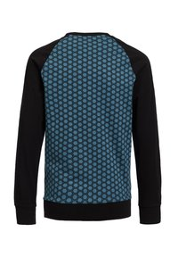 WE Fashion - Print T-shirt - greyish blue - 1