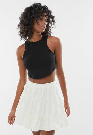 A-line skirt - off white