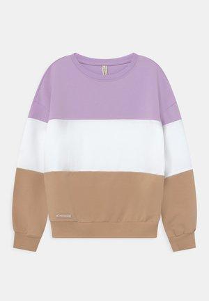 GIRLS COLOR BLOCK  - Sweatshirt - violett reactive