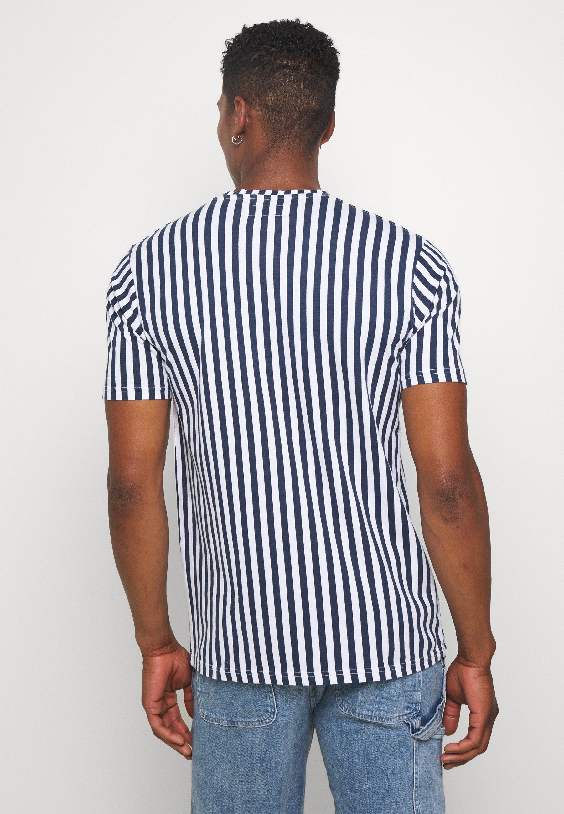 Just Junkies ROSS - Print T-shirt - navy 7vrnG