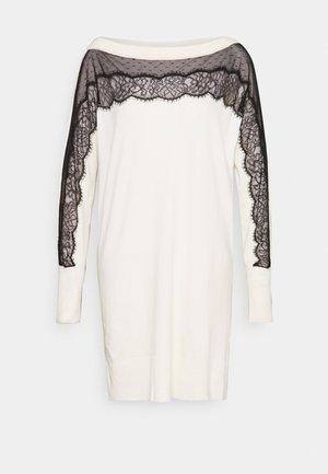 Robe pull - bianco panna