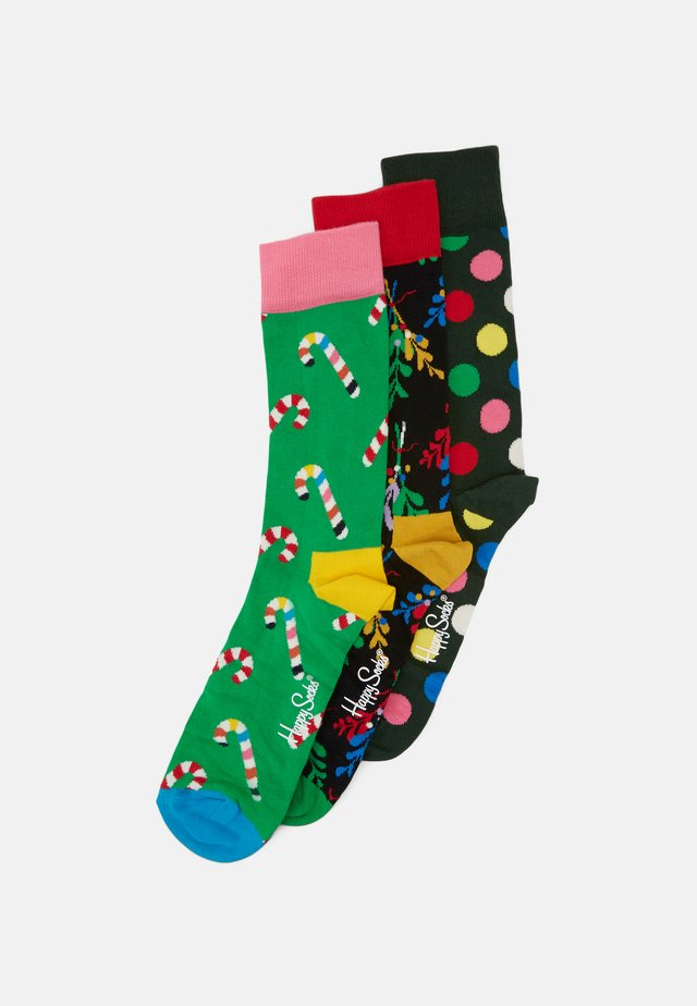 HOLIDAY SOCKS GIFT 3 PACK - Strømper - multicoloured