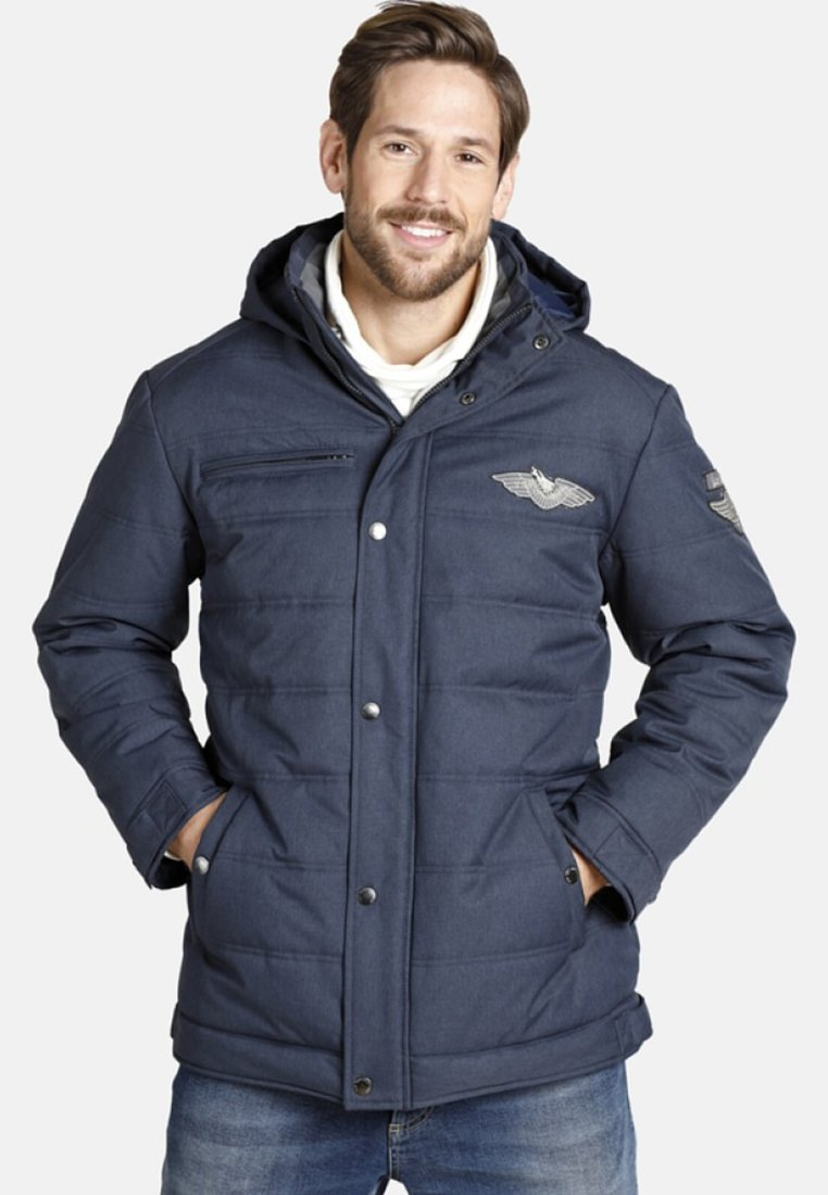 Jan Vanderstorm - JUHAPEKKA - Winter jacket - blue