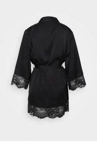 Etam - DESHABILLE - Dressing gown - noir - 7