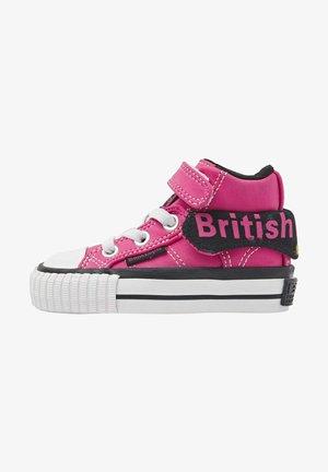 ROCO - Sneakers hoog - hard pink black