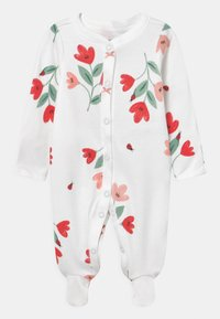 Carter's - FLORAL - Sleep suit - white/red - 0