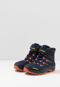 Lowa - MADDOX WARM GTX - Śniegowce - navy/orange - 3