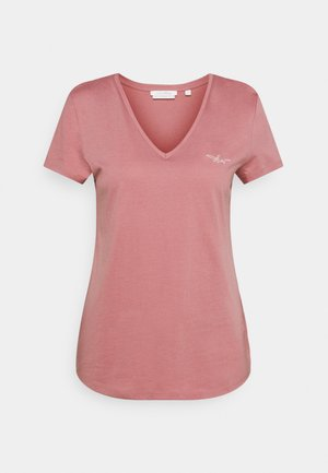 T-shirt basic - cozy rose