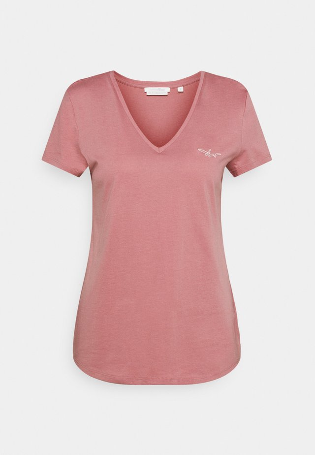 T-shirt basic - cozy rose