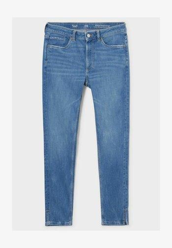 Slim fit jeans - denim-light blue