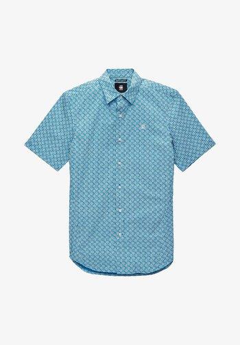 DRESSED SUPER SLIM - Skjorta - light royal blue micro objects