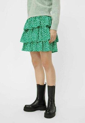Veckad kjol - jelly bean