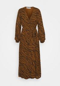 Faithfull the brand - FLORIAN WRAP DRESS - Denní šaty - kenya - 5