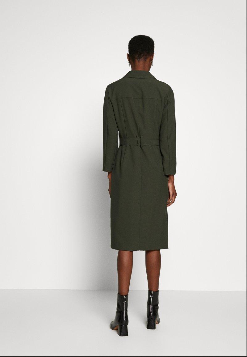Dorothy Perkins Tall - LONG SLEEVE TRENCH DRESS - Robe d'été - khaki