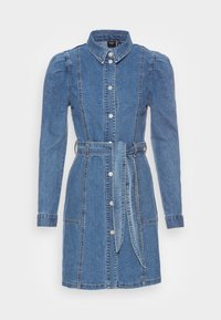 Vero Moda - VMMAGGIE SHORT DRESS - Denim dress - medium blue denim - 3