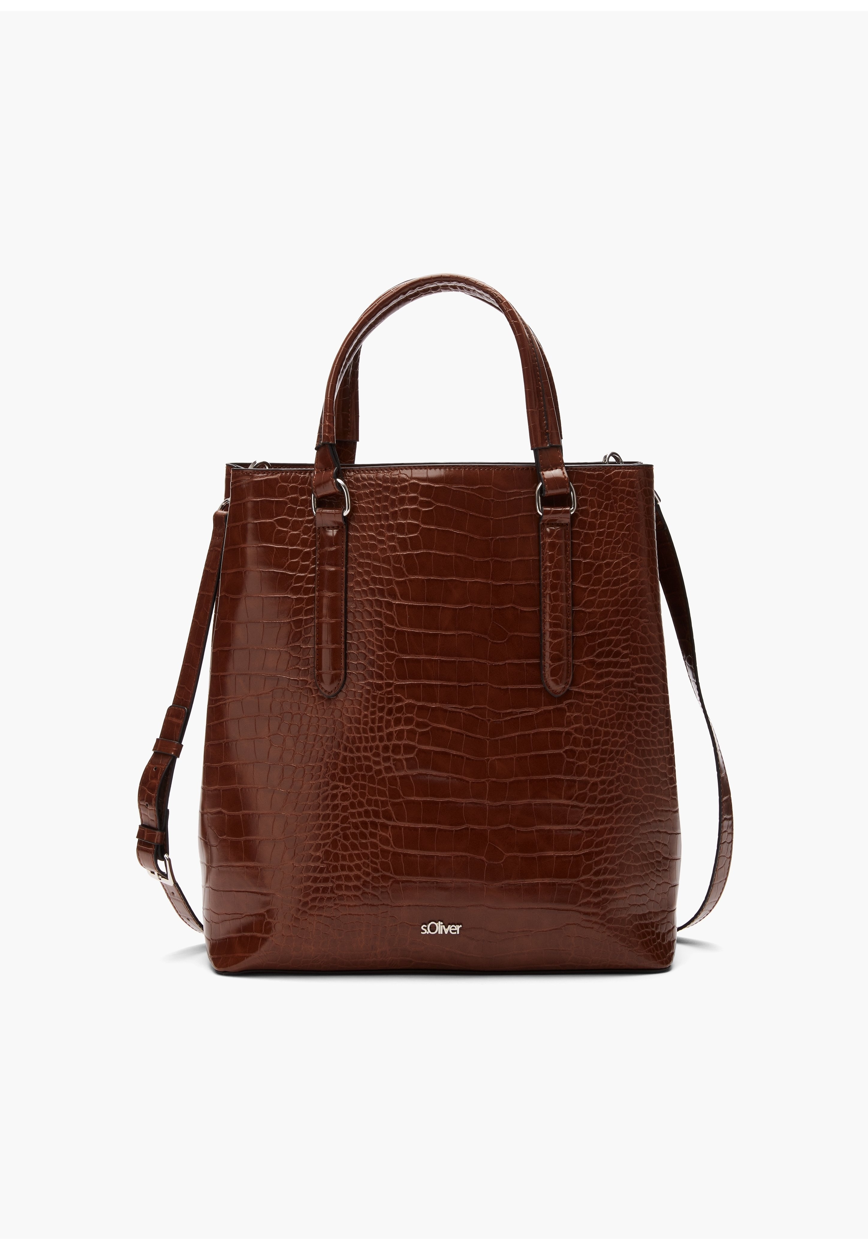 S.oliver Shopping Bag - Cognac/braun