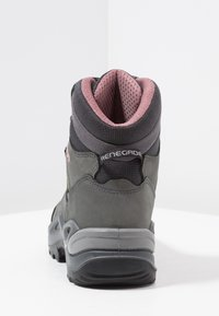 Lowa - RENEGADE GTX MID - Hiking shoes - graphite/rosé - 3