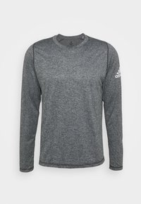adidas Performance - AEROREADY LONG SLEEVE - Sports shirt - black/white - 0