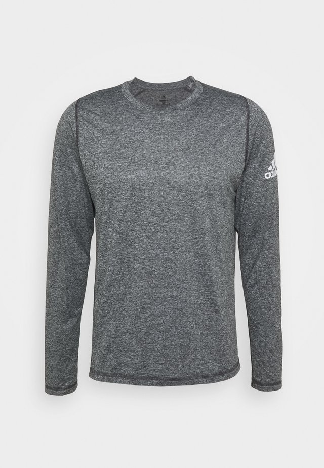 AEROREADY LONG SLEEVE - Langærmede T-shirts - black/white