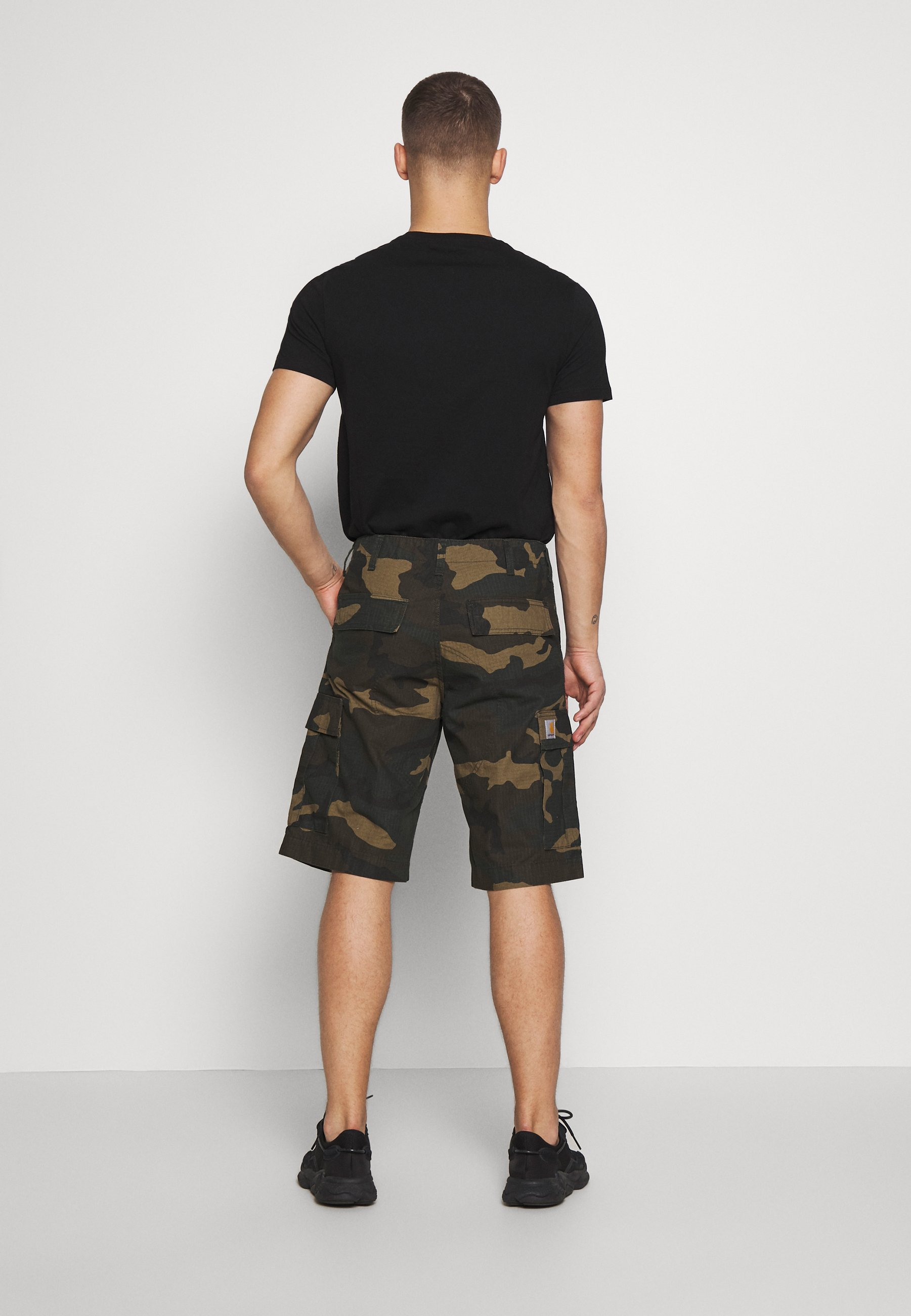 Carhartt WIP REGULAR CARGO COLUMBIA - Short - laurel rinsed