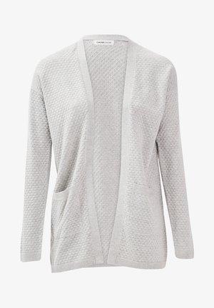 Cardigan - gris clair