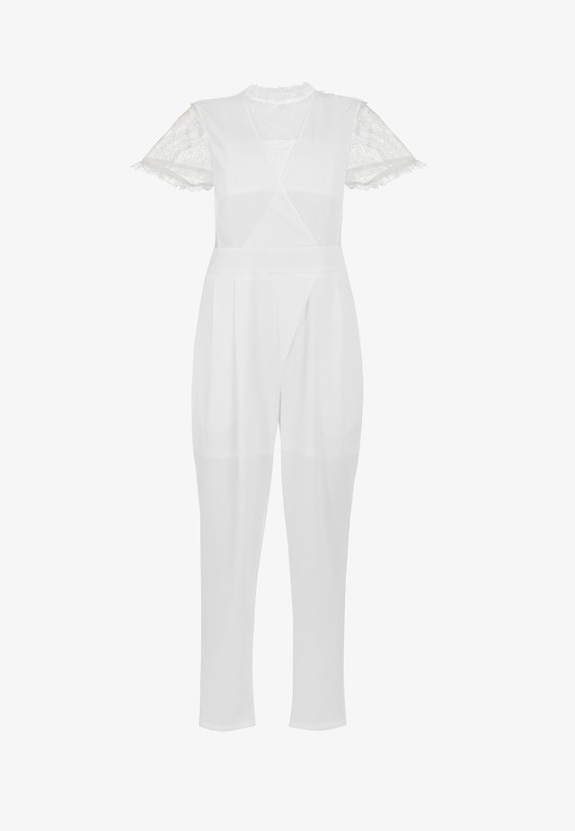Overall / Jumpsuit /Buksedragter - weiss