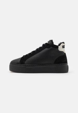 BERN - Vysoké tenisky - black