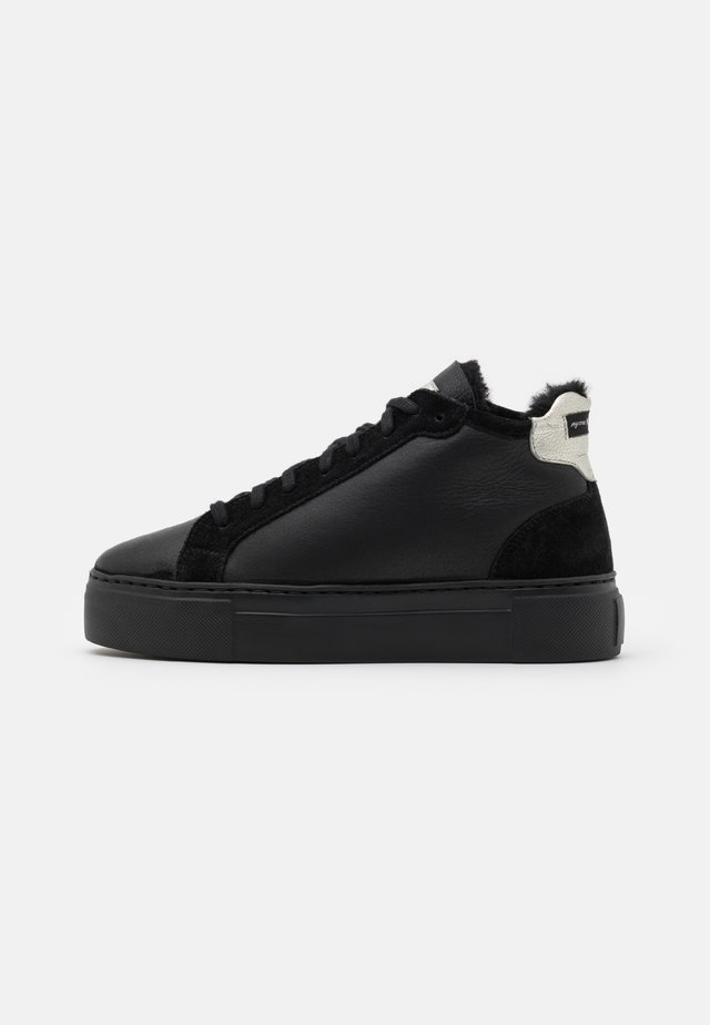 BERN - High-top trainers - black