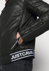 Just Cavalli - KABAN - Giacca leggera - black - 4