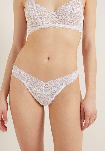 Thong - bianco