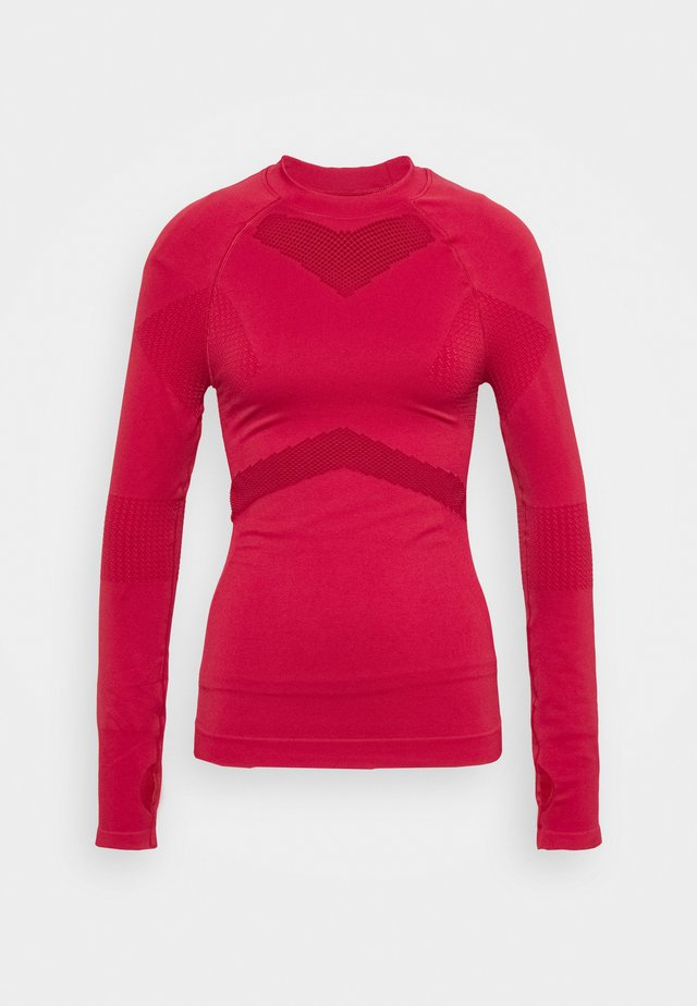 LONG SLEEVE COMPRESSION  - Long sleeved top - red
