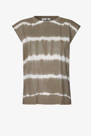 BEIJING TOP - Print T-shirt - taupe