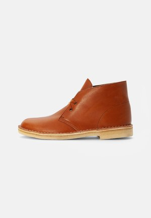 DESERT BOOT - Casual lace-ups - burgundy