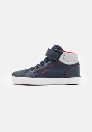 GISLI BOY - High-top trainers - navy/red
