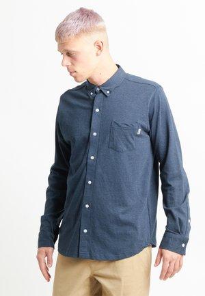 Shirt - navy blue melange