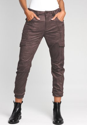 Cargo trousers - bitter sweet chocolate