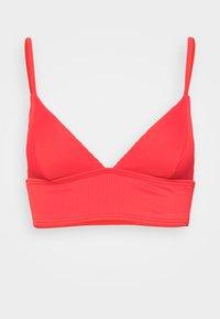 MIND OF FREEDOM TANK - Bikini top - poppy red