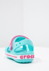 Crocs - CROCBAND KIDS - Pool slides - pool/candy pink - 3