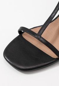 Rubi Shoes by Cotton On - MILA DOUBLE STRAP HEEL - Sandály - black - 2
