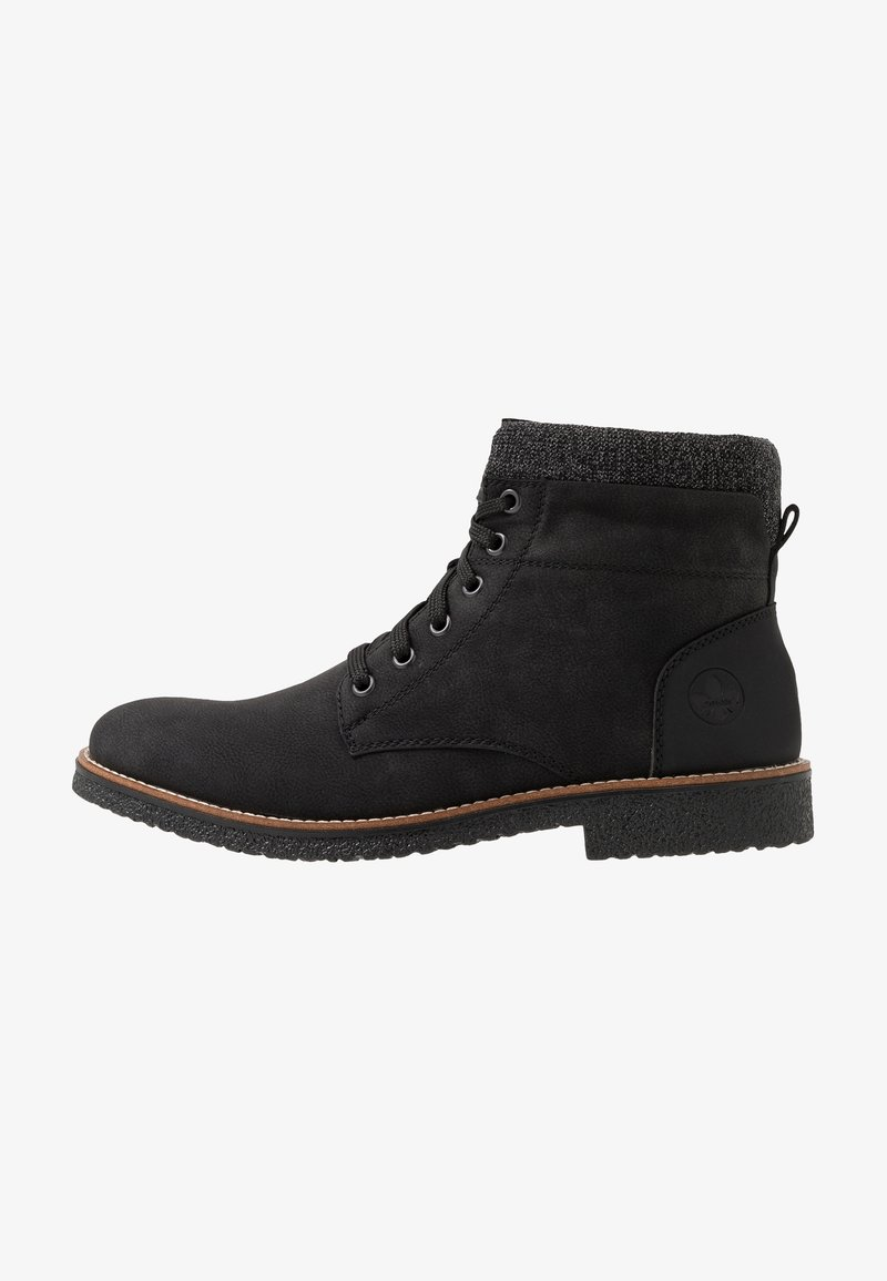 Rieker - Lace-up ankle boots - schwarz/granit