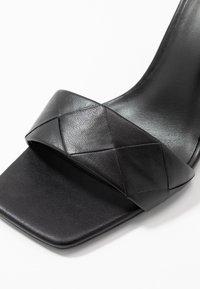 Zign - Sandalias de tacón - black - 2