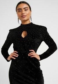 Fashion Union Petite - ROWLER - Shift dress - black - 3