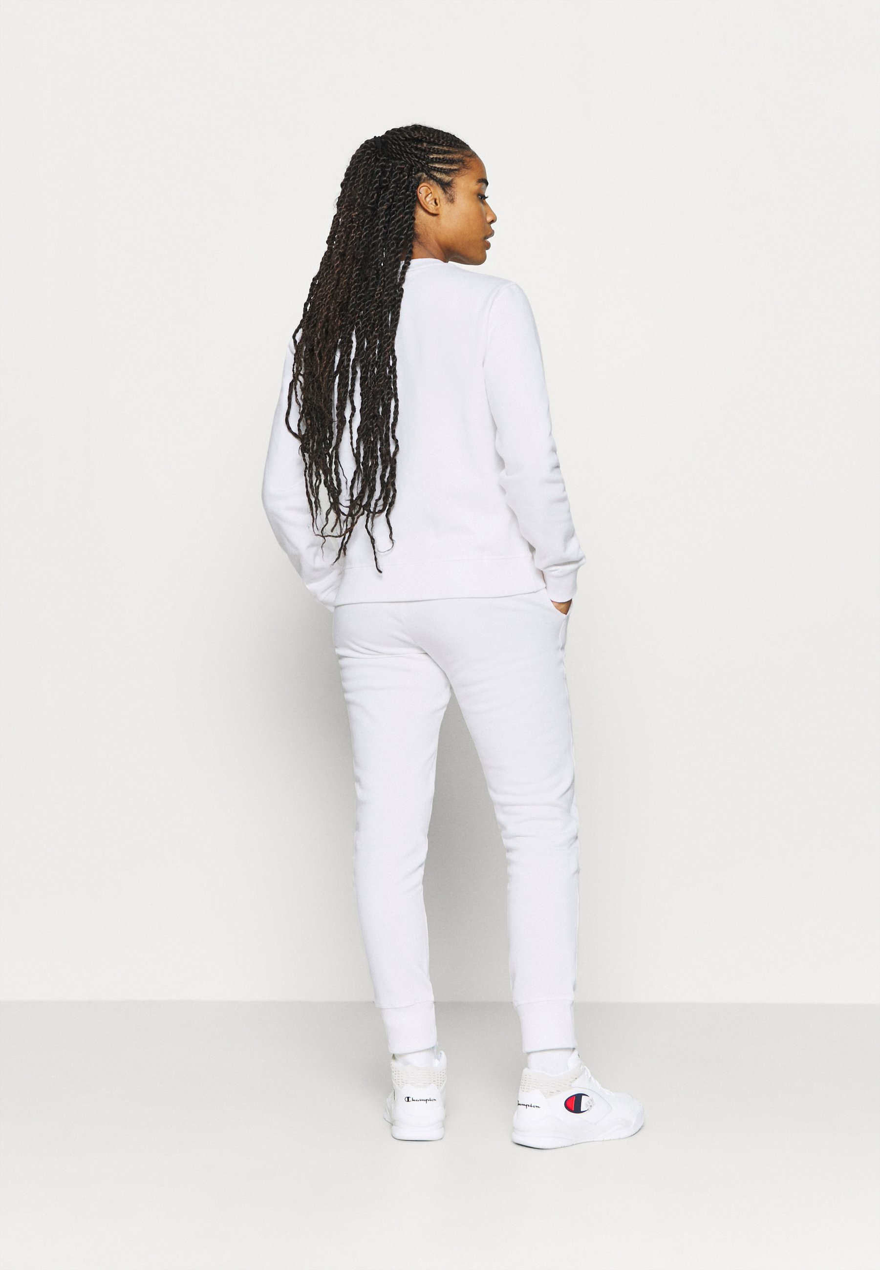 Champion CUFF PANTS ROCHESTER - Tracksuit bottoms - white 4GBsm