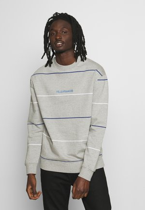 STRIPED CREW - Sudadera - grey
