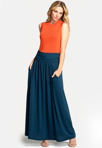 HotSquash - Pleated skirt - Woodland Teal - 1