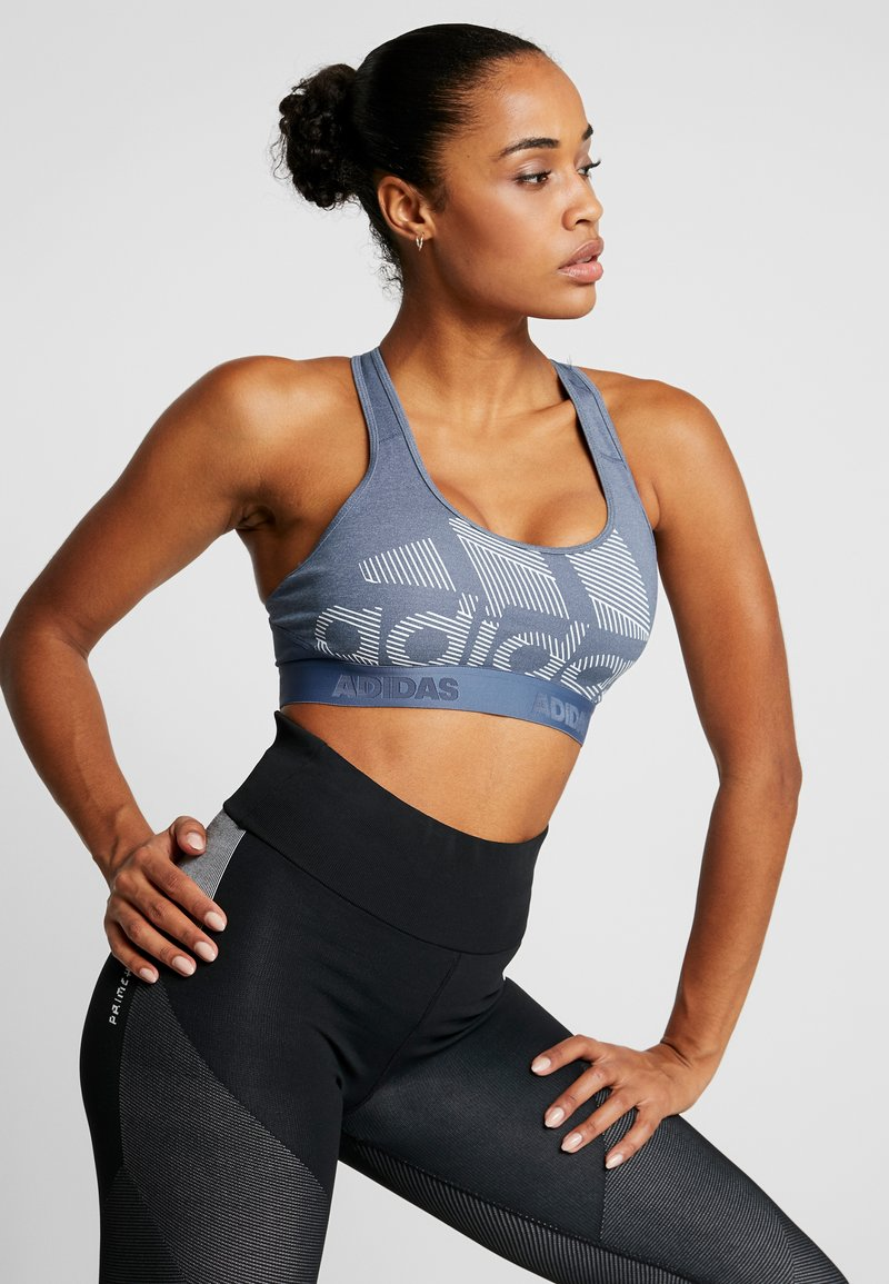 adidas Performance - Sport-bh - tech ink/heather