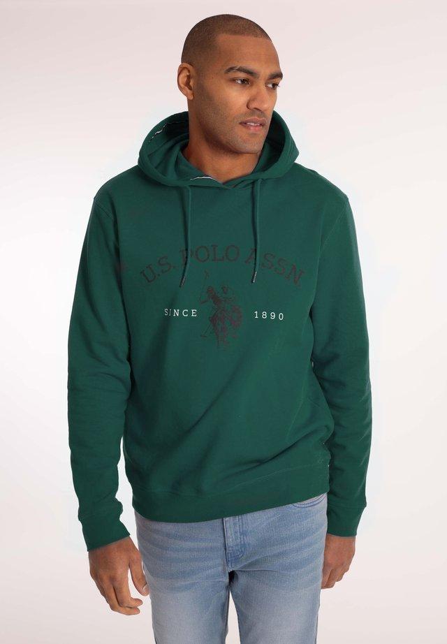 CARL - Hoodie - botanical green