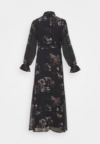 NU-IN - SLEEVE MAXI DRESS - Robe longue - black - 5